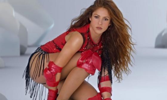 El curioso baile de Shakira: así celebró las dos nominaciones a los MTV Europe Music Awards