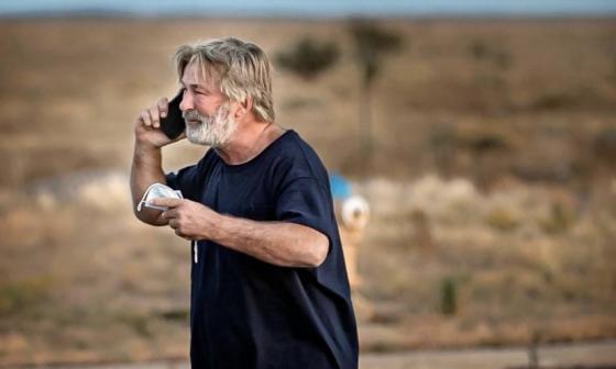 Alec Baldwin: las duras imágenes del actor tras matar por accidente a la directora de fotografía