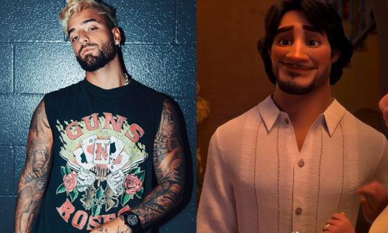 El cantante Maluma dará voz a un personaje de la película de Disney 'Encanto'