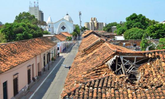 Procuraduría pide  intervención inmediata de viviendas del centro histórico de Valledupar