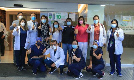 Siete clínicas de alta complejidad de Barranquilla ya tienen el 'Sello 100% Vacunado'