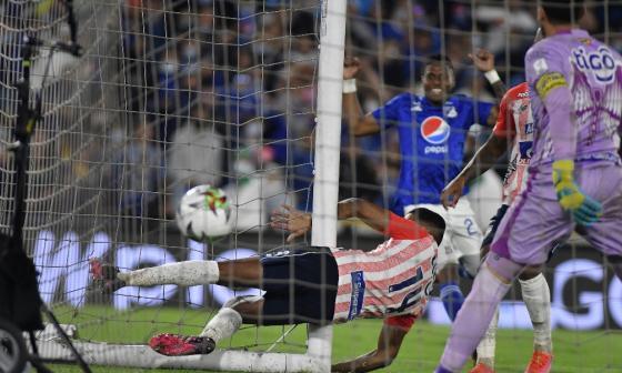 Junior no ha podido vencer a los llamados equipos grandes del fútbol colombiano este semestre