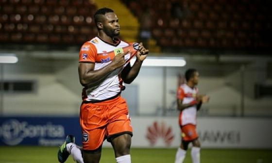 """Al colombiano Chará lo llamaron """"mono"""", según le dijo el árbitro"""
