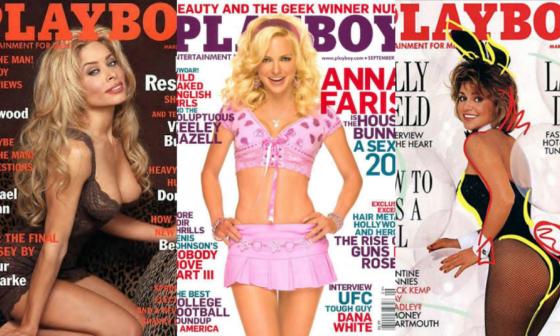 En imágenes   Las famosas que fueron portada de Playboy