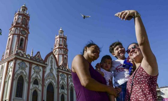 En imágenes   Las selfis que no deben faltar en Barranquilla