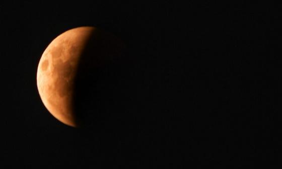 Barranquilleros se reunieron para ver el eclipse total de Luna