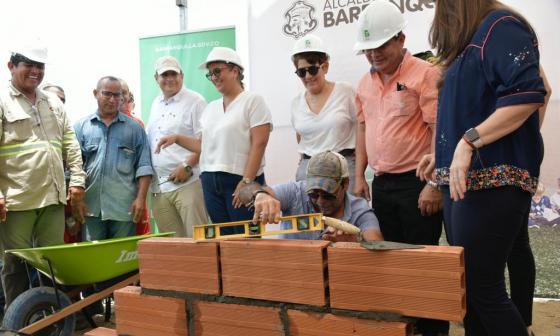 En imágenes   Inician obras de construcción de la Institución Educativa Nuevo Bosque