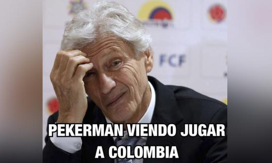 Los memes que dejó el partido Ecuador vs. Colombia