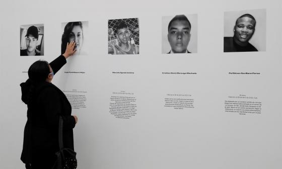 'Vidas Robadas', el homenaje a los fallecidos durante las protestas