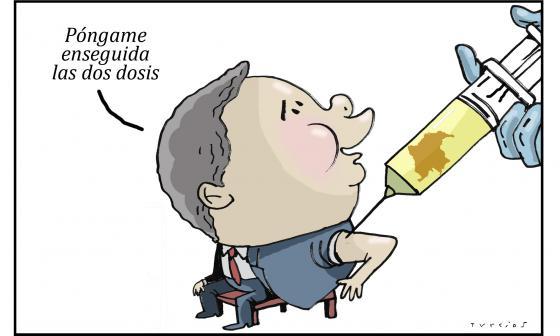 Caricatura el mundo de Turcios