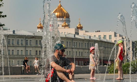 Moscú rompió récord de temperatura con 37 grados centígrados