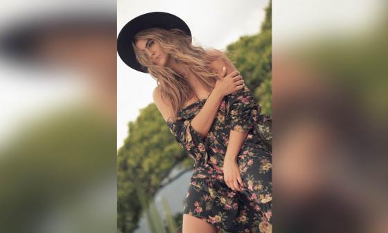 Modelo colombiana Juanita Álvarez