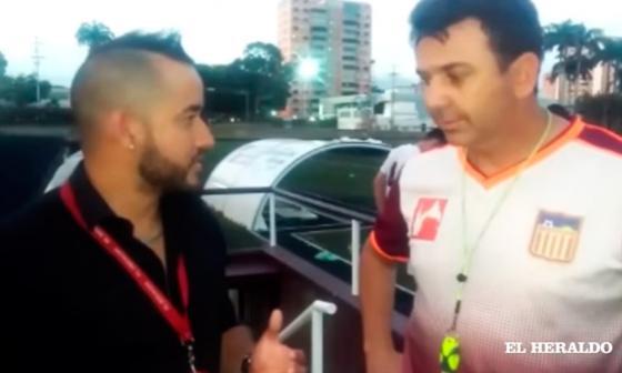 Julio César Baldivieso quiere debutar con triunfo en el banquillo del Carabobo FC