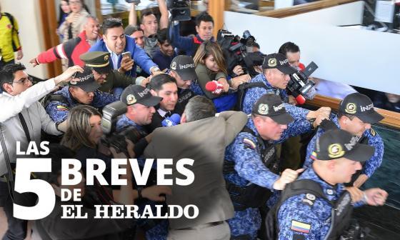 Las 5 breves de EH | Exfiscal Moreno ya fue extraditado a Estados Unidos