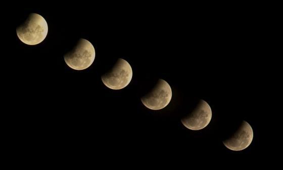 Comienza el eclipse lunar más largo del siglo