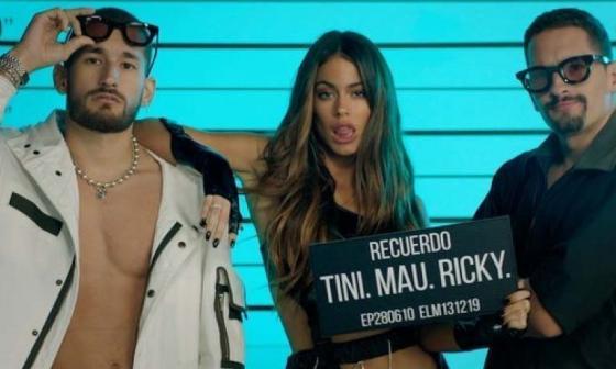 En video | Tini lanza junto a Mau y Ricky, 'Recuerdo'