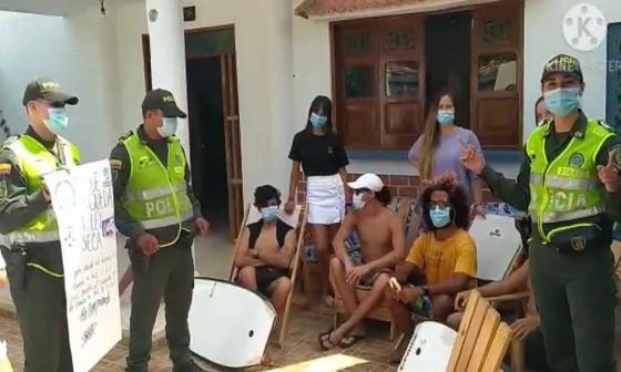 Policía Metropolitana lidera socialización de medidas de prevención