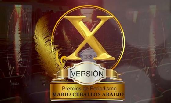 En vivo: Siga la gala de los Premios de Periodismo Mario Ceballos Araújo