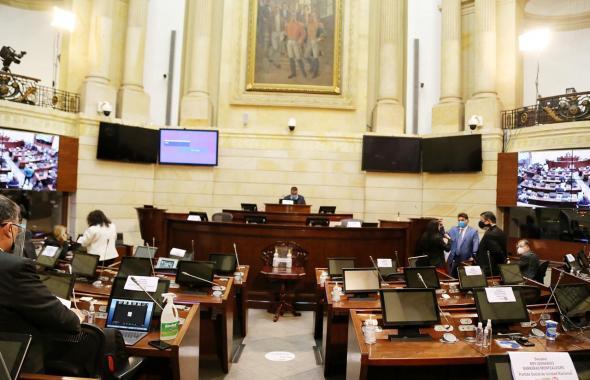 Bajo estrictas medidas de bioseguridad vuelve el Congreso en pleno a sesionar