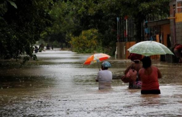 Emergencia en Cartagena por tormenta tropical Iota