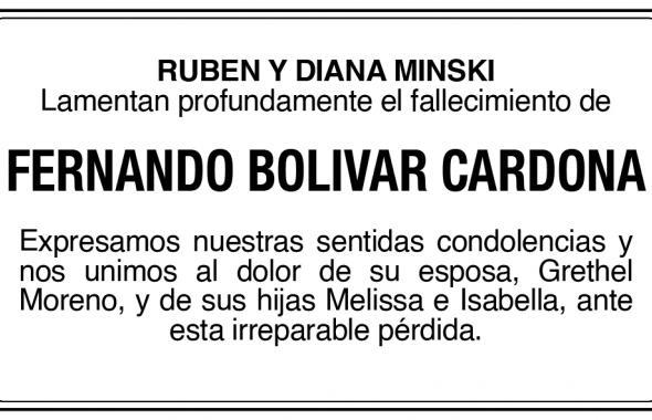 Fernado Bolivar Cardona