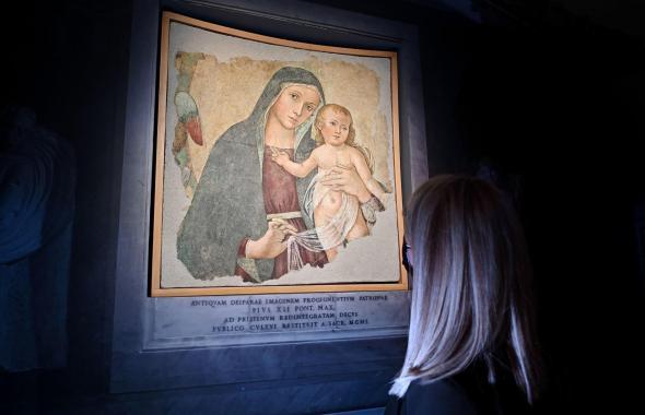 La Madonna delle Partorienti vuelve a mostrarse tras su restauración