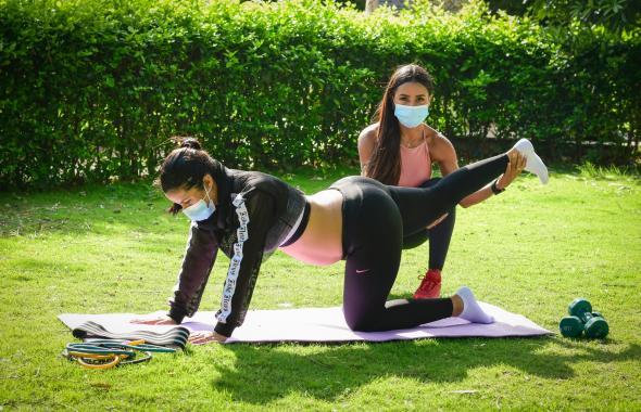 Cinco ejercicios básicos para mujeres embarazadas