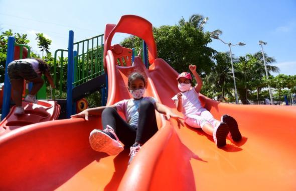 Parques de Barranquilla vuelven a tener actividades deportivas y culturales