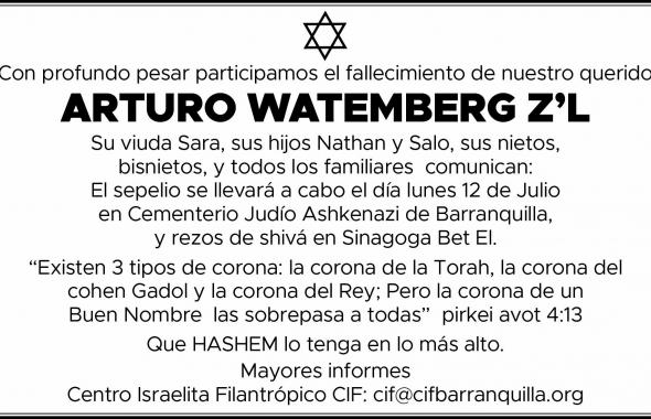 ARTURO WATEMBERG