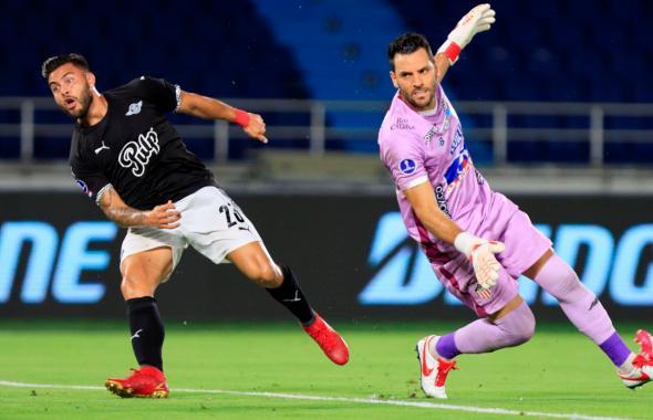 Junior pierde contra Libertad en la Copa Sudamericana