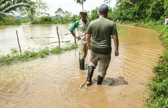 Esta es la Dramática situación que viven habitantes de la Mojana sucreña