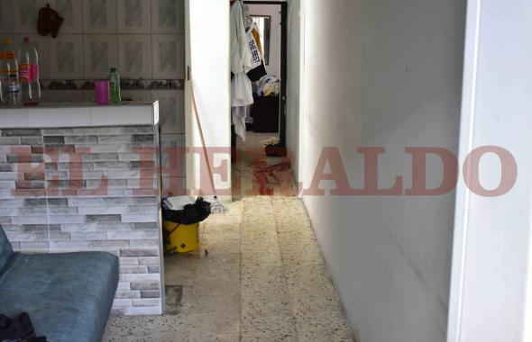 Así quedó la vivienda de 'La Máquina del Mal' después de operativo de la Policía