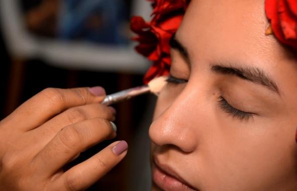 Maquillaje de catrina para Halloween