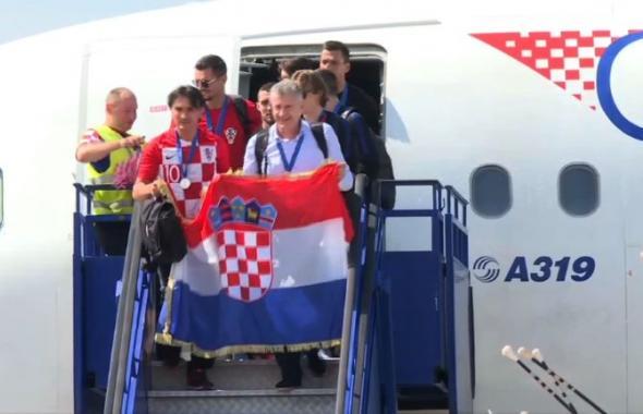 Croacia de fiesta al recibir a los subcampeones del mundo