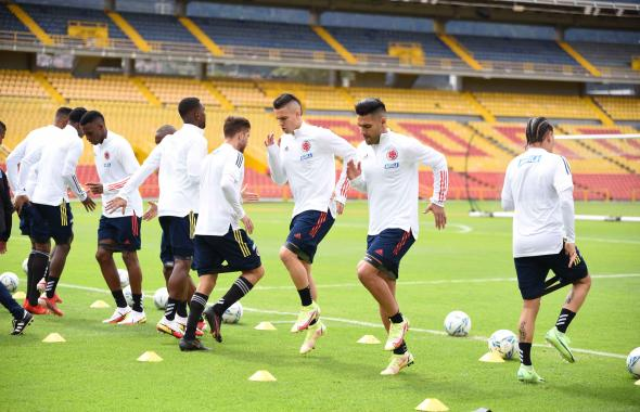 Así está el ambiente en Barranquilla previo al encuentro Uruguay vs. Colombia