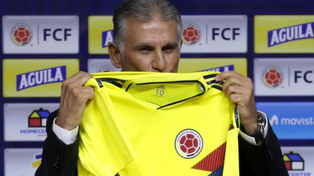 El portugués Carlos Queiroz ya fue presentado como director técnico de la Selección Colombia.