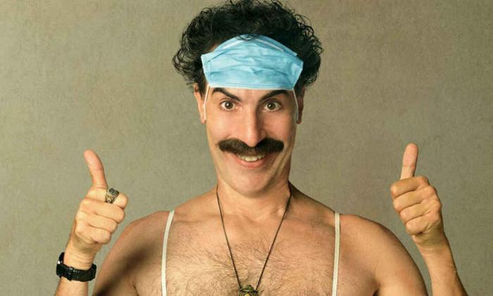 Triunfal y oportuno regreso de Borat