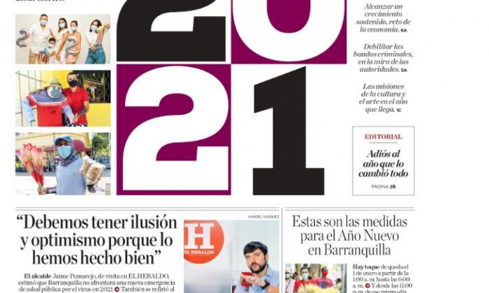 """""""Estas son las medidas para el Año Nuevo en Barranquilla"""""""