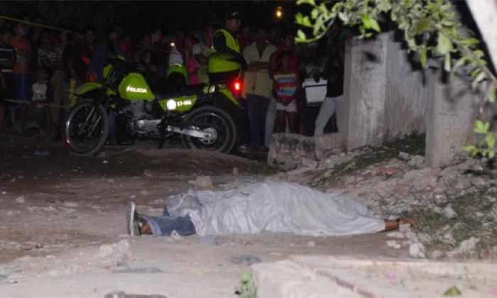 Asesinan a hombre en barrio Villa Lozano de Soledad