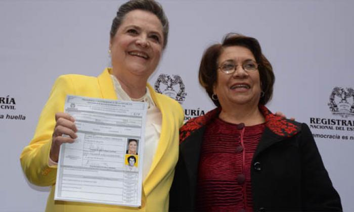 Clara López y Aída Avella, la fórmula de la izquierda para las elecciones presidenciales
