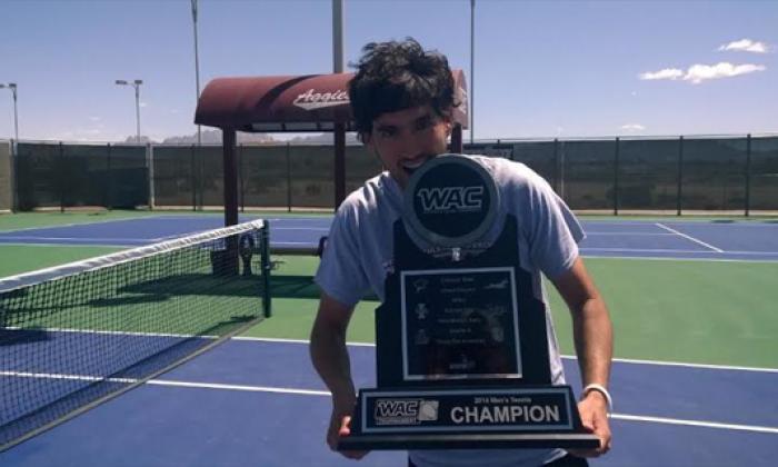 José Bendeck se gradúa en el tenis universitario de EEUU