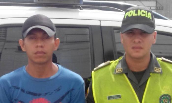 Julio César Maldonado fue capturado por los delitos de violencia intrafamiliar y tentativa de homicidio.