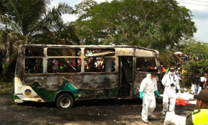 Multan al tránsito de Fundación  a raíz de la muerte de 33 niños en un bus
