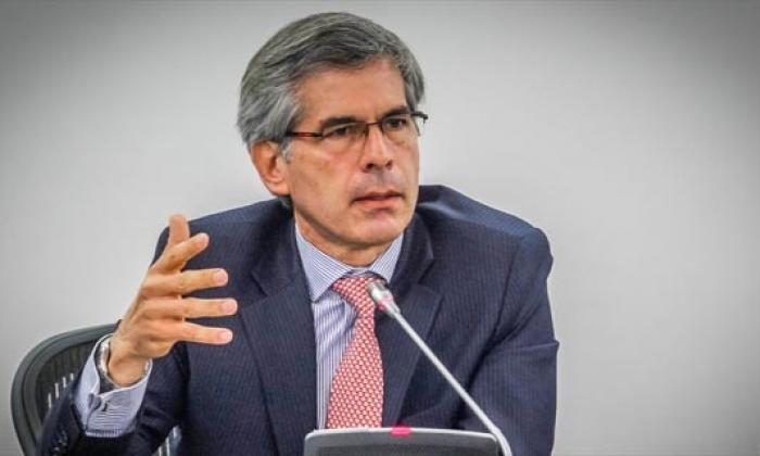 El ministro de Justicia, Yesid Reyes Alvarado.