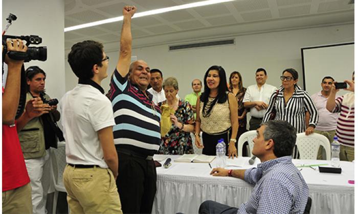 El azar dio a José Cadena la  última curul del Concejo
