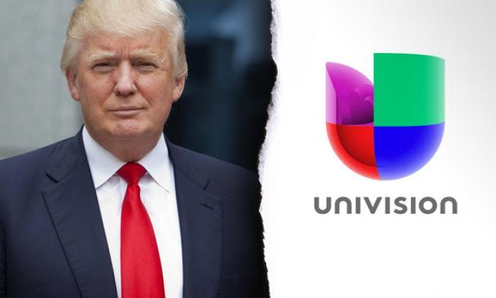 Univision pide a corte desestimar demanda de Trump