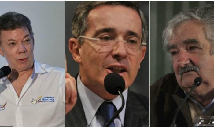 """Santos a Pepe Mujica: """"Estoy listo para reunirme con Álvaro Uribe en cualquier montaña"""""""
