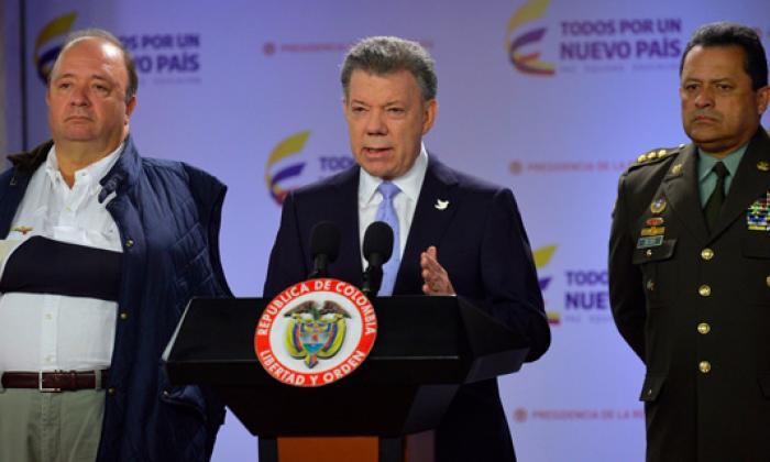 Santos acepta renuncia del general Palomino y nombra en su reemplazo al general Nieto