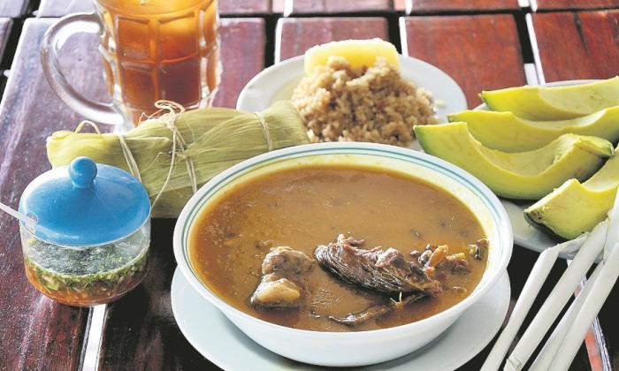 Gastronomía típica que ofrece la Puerta de Oro de Colombia
