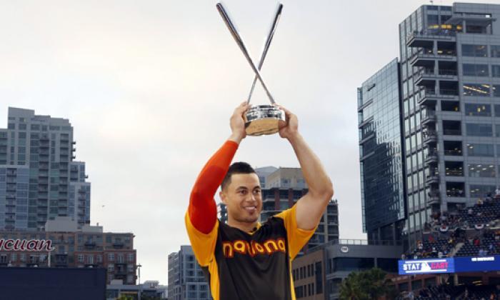 Giancarlo Stanton, ganador del Home Run Derby 2016